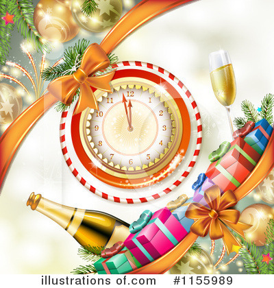 Champagne Clipart #1155989 by merlinul
