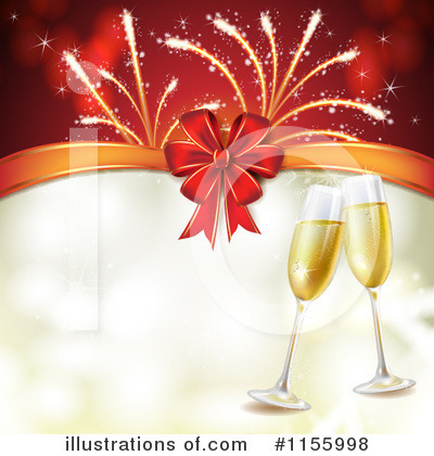 Champagne Clipart #1155998 by merlinul