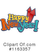 New Year Clipart #1163357 by BNP Design Studio