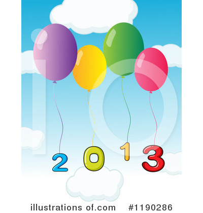 New Year Clipart #1190286 by Graphics RF
