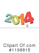 New Year Clipart #1198815 by NL shop