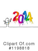 New Year Clipart #1198818 by NL shop