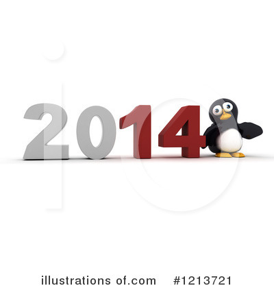 Penguin Clipart #1213721 by KJ Pargeter