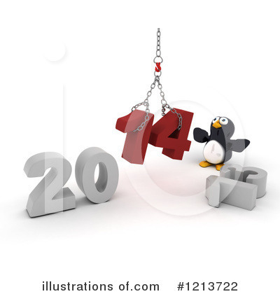 Penguin Clipart #1213722 by KJ Pargeter