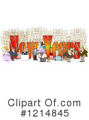 Royalty-Free (RF) New Year Clipart Illustration #1214845