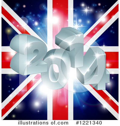 Union Jack Clipart #1221340 by AtStockIllustration
