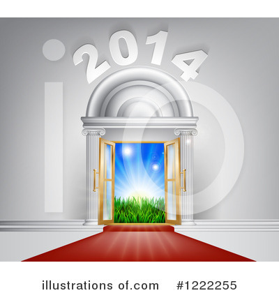Royalty-Free (RF) New Year Clipart Illustration by AtStockIllustration - Stock Sample #1222255