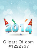 Royalty-Free (RF) New Year Clipart Illustration #1222937