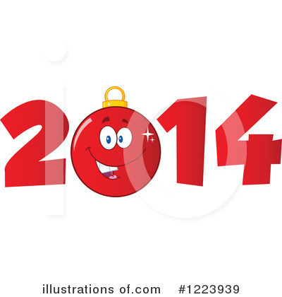 Royalty-Free (RF) New Year Clipart Illustration by Hit Toon - Stock Sample #1223939