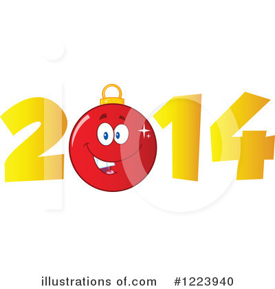 Royalty-Free (RF) New Year Clipart Illustration by Hit Toon - Stock Sample #1223940