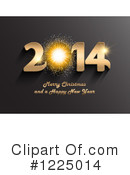 Royalty-Free (RF) New Year Clipart Illustration #1225014