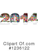 New Year Clipart #1236122 by Andrei Marincas