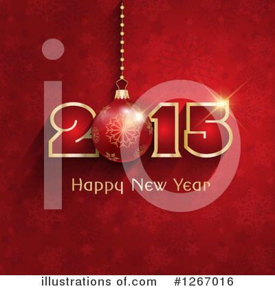 New Year Clipart #1267016 by KJ Pargeter
