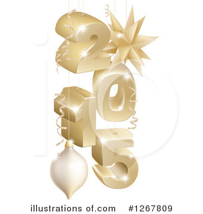 Year Clipart #1267809 by AtStockIllustration