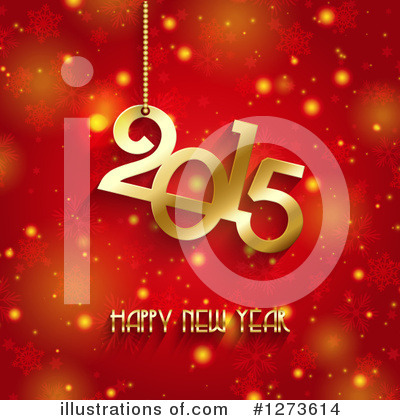New Year Clipart #1273614 by KJ Pargeter