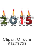 Royalty-Free (RF) New Year Clipart Illustration #1279759