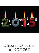 Royalty-Free (RF) New Year Clipart Illustration #1279760