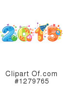 Royalty-Free (RF) New Year Clipart Illustration #1279765