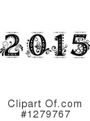 Royalty-Free (RF) New Year Clipart Illustration #1279767