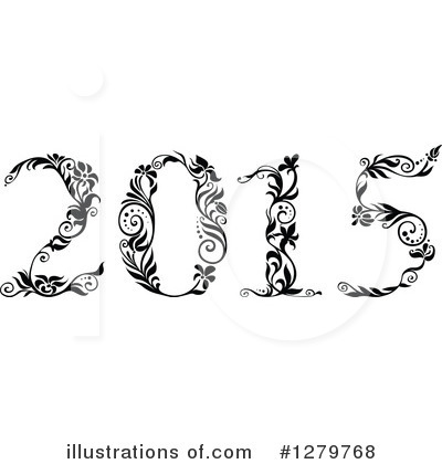 New Year Clipart #1279768 by Vector Tradition SM