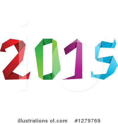New Year Clipart #1279769 by Vector Tradition SM