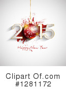 New Year Clipart #1281172 by KJ Pargeter