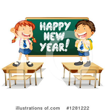 New Year Clipart #1281222 by Graphics RF