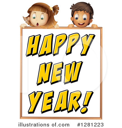New Year Clipart #1281223 by Graphics RF