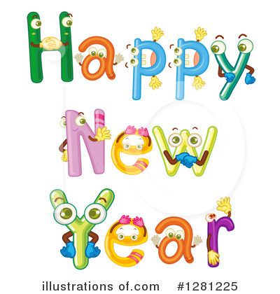 New Year Clipart #1281225 by Graphics RF