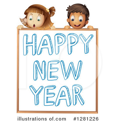 New Year Clipart #1281226 by Graphics RF