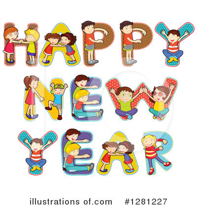 New Year Clipart #1281227 by Graphics RF