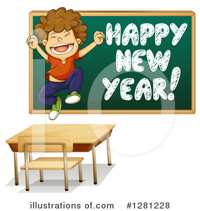 New Year Clipart #1281228 by Graphics RF