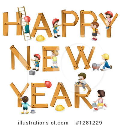 New Year Clipart #1281229 by Graphics RF