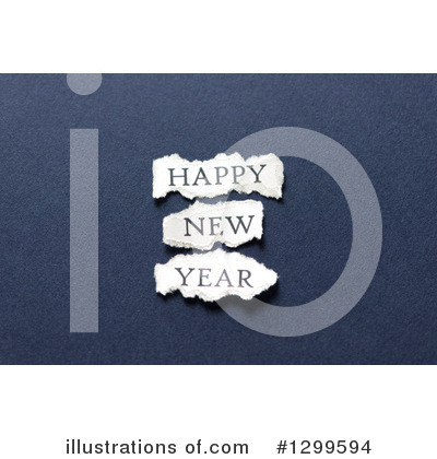 New Year Clipart #1299594 by Frank Boston