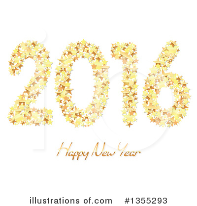 New Year Clipart #1355293 by dero