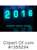 New Year Clipart #1355294 by dero
