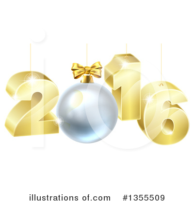 New Year Clipart #1355509 by AtStockIllustration