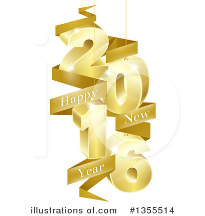 New Year Clipart #1355514 by AtStockIllustration