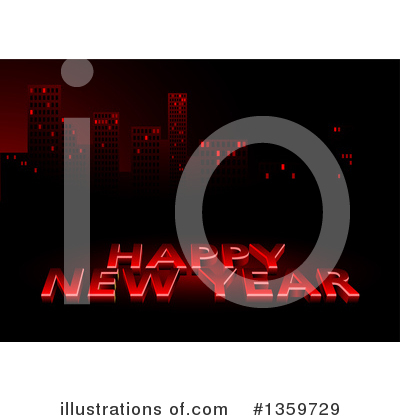 New Year Clipart #1359729 by dero