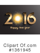 Royalty-Free (RF) New Year Clipart Illustration #1361945
