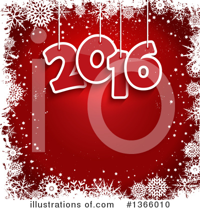 New Year Clipart #1366010 by KJ Pargeter