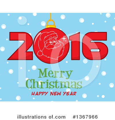 New Year Clipart #1367966 by Hit Toon