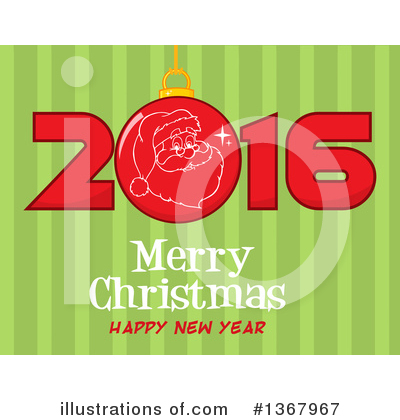 New Year Clipart #1367967 by Hit Toon