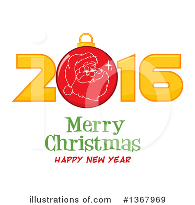 New Year Clipart #1367969 by Hit Toon