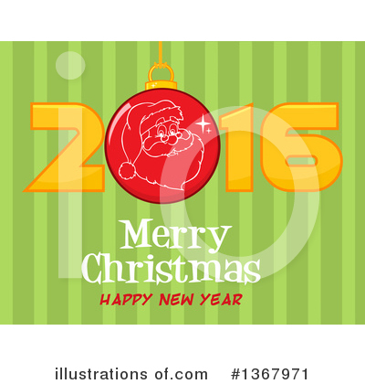 New Year Clipart #1367971 by Hit Toon