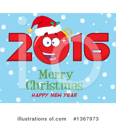 Royalty-Free (RF) New Year Clipart Illustration by Hit Toon - Stock Sample #1367973