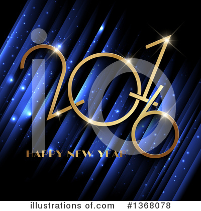New Year Clipart #1368078 by KJ Pargeter