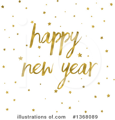 New Year Clipart #1368089 by KJ Pargeter