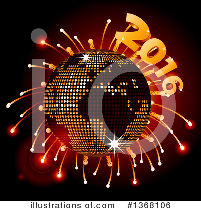 Royalty-Free (RF) New Year Clipart Illustration by elaineitalia - Stock Sample #1368106