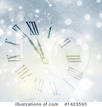 Clock Clipart #1423593 by KJ Pargeter